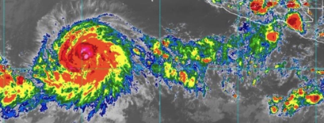Bárbara se convierte en huracán categoría 1 en el Pacífico