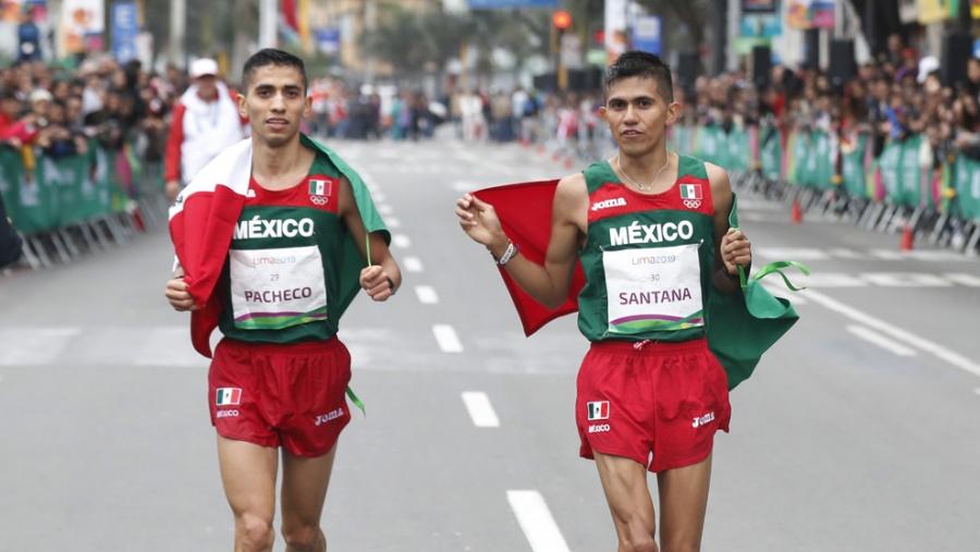México gana plata y bronce en prueba de maratón en Lima 2019