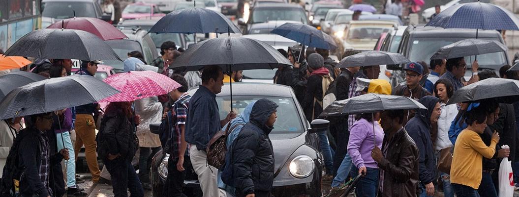 Lluvias de muy fuertes a moderadas en 31 estados del país: SMN