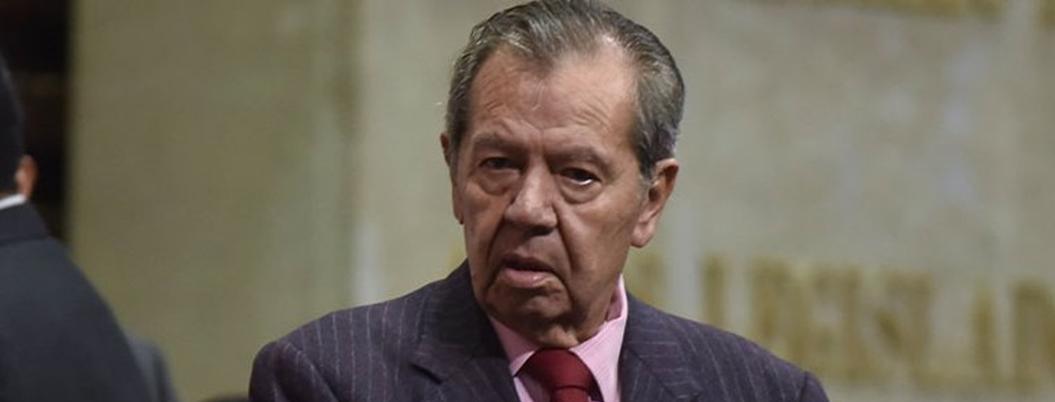 Muñoz Ledo exige que Garduño salga de Migración