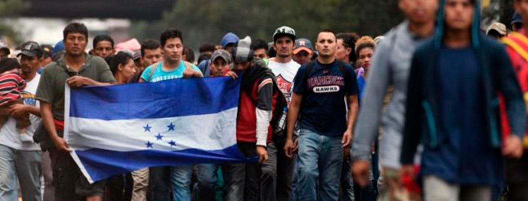 Hondureños migran a un país sin violencia ni pobreza