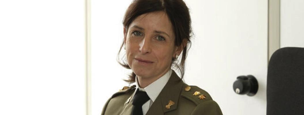 Patricia Ortega, la primera general en la historia de España