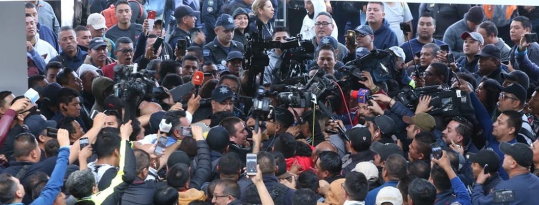 Policía Federal convoca a paro masivo para mañana