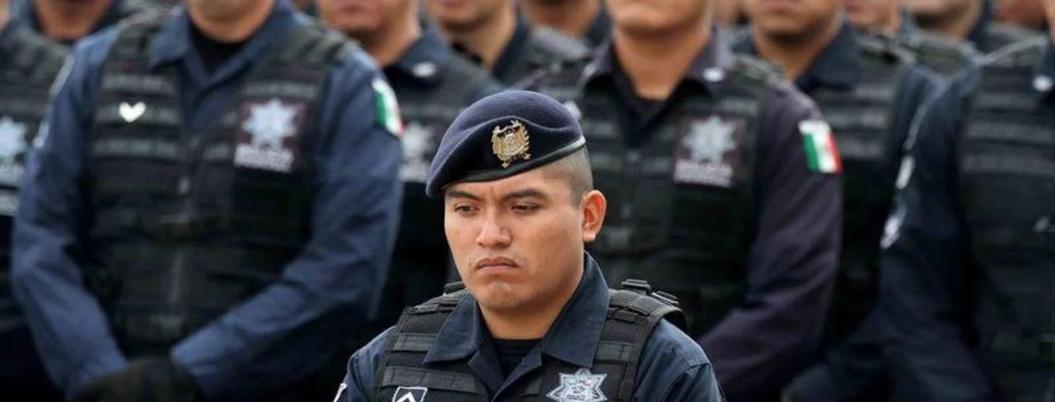 Policías federales no pasan el filtro de GN por obesos