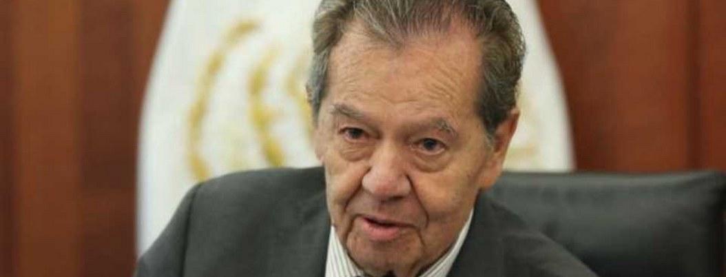 Porfirio Muñoz Ledo libra con éxito operación en la vesícula