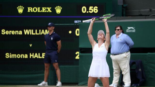 Simona Halep campeona de Wimbledon 2019 Reuters