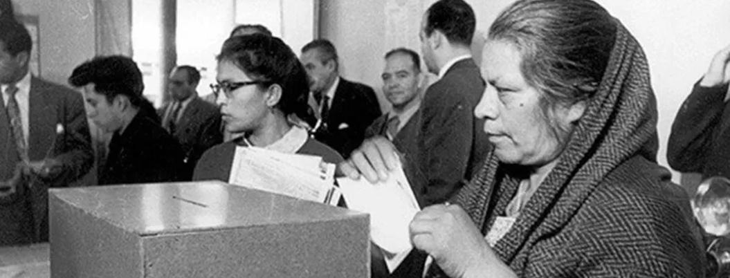 Hace 64 años se permitió que las mujeres votaran en México
