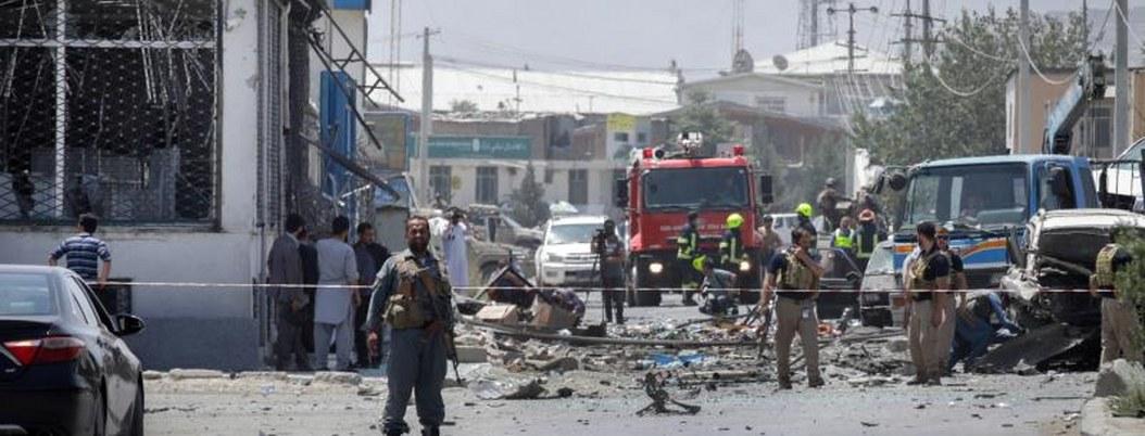 Triple atentado terrorista en Kabul deja siete muertos y 21 heridos