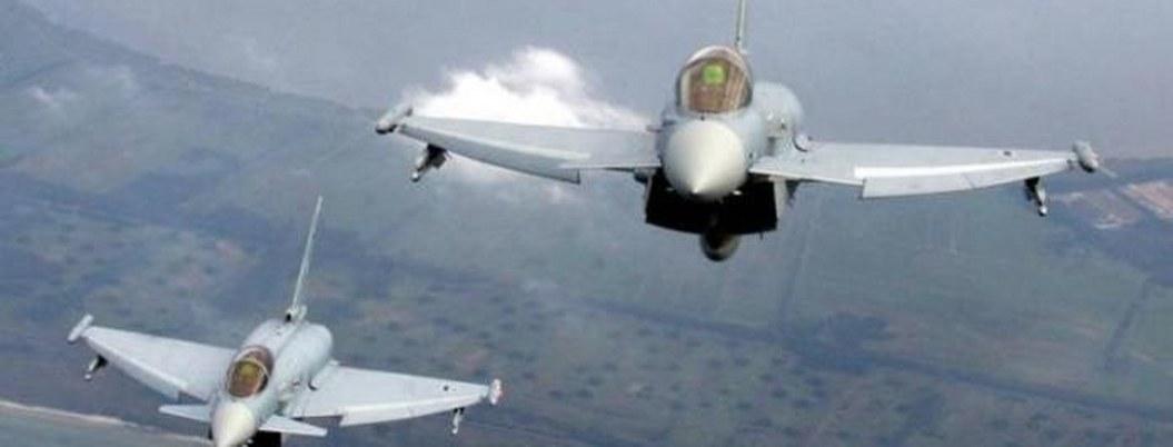 Colisionan en pleno vuelo dos aviones militares en Qatar