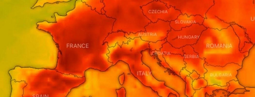 Ola de calor azota a Europa; varios países en alerta