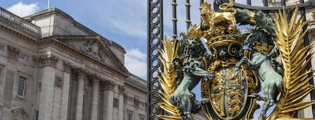 Trepa rejas del palacio de Buckingham y lo atrapan