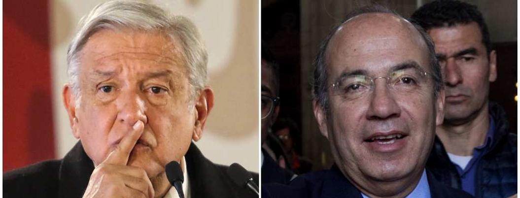 """Calderón le responde a AMLO: """"a ti te queda grande la Presidencia"""""""