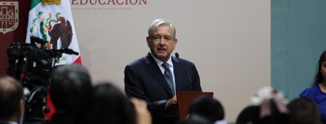 "Obrador reitera que no habrá ""mano dura"" contra manifestaciones"