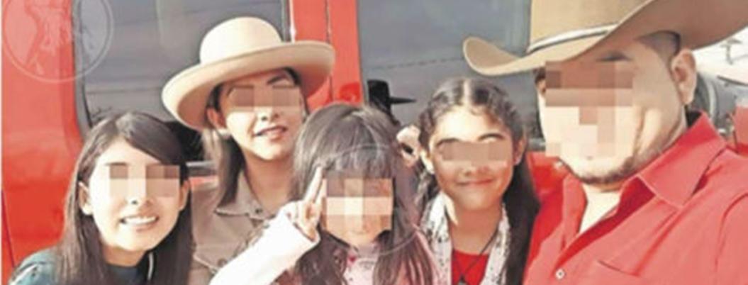 Comando masacra a hombre y tres niñas con más de cien balazos