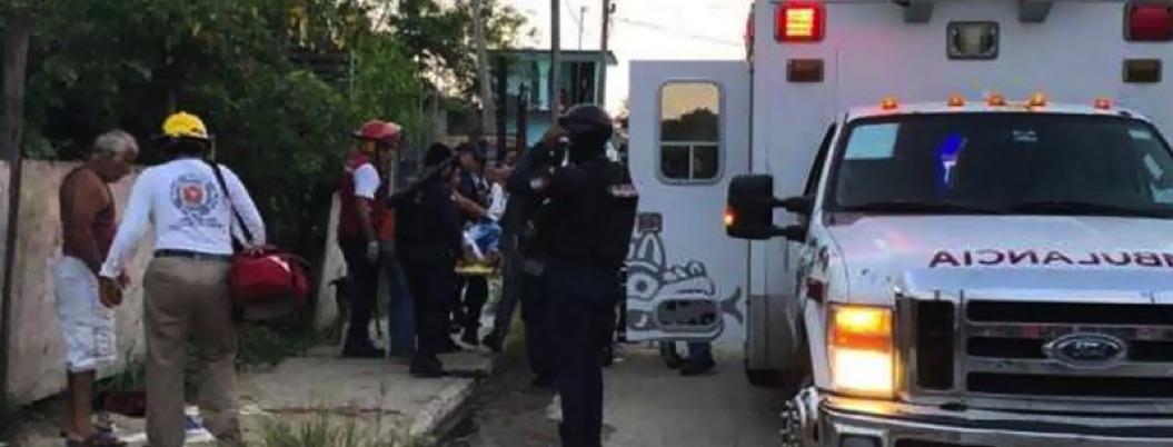 Rafaguean a familia en Veracruz; hieren a cuatro, entre ellas a bebé