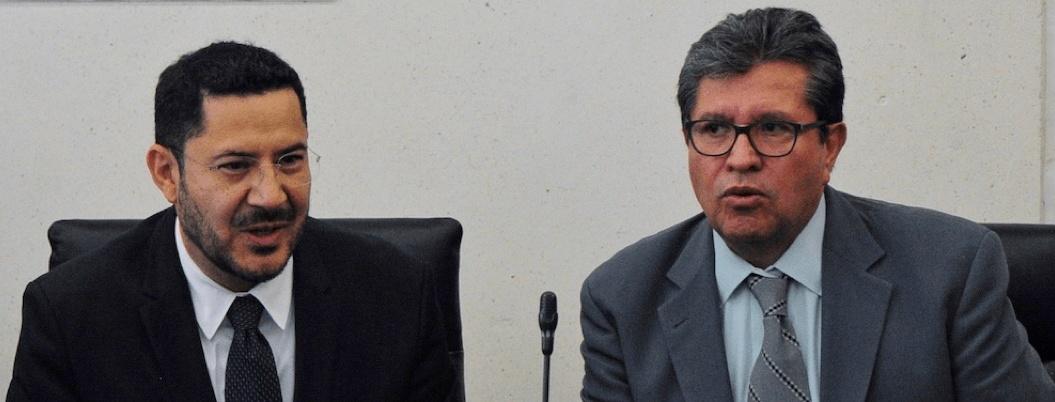 Batres dejaría presidencia del Senado si Monreal abandona Jucopo