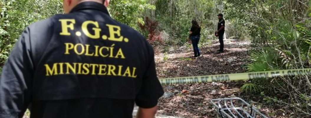 Hallan muertos a dos ciclistas en Supermanzana 112, Quintana Roo