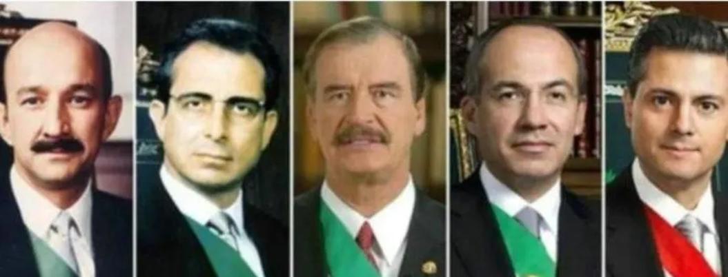 AMLO perdona a expresidentes; está en contra de juicios