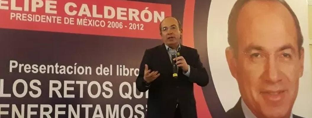 """Calderón anda de vidente: """"populismo de AMLO provocará crisis económica"""""""