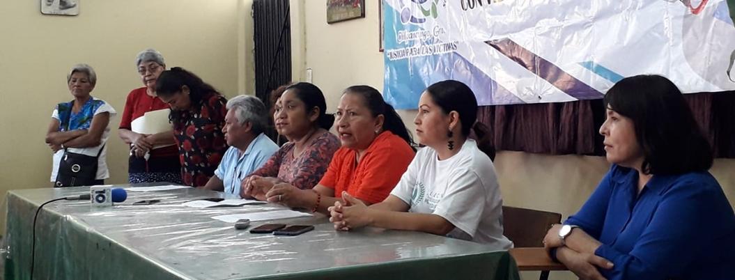 Colectivos forman frente de desaparecidos en Guerrero