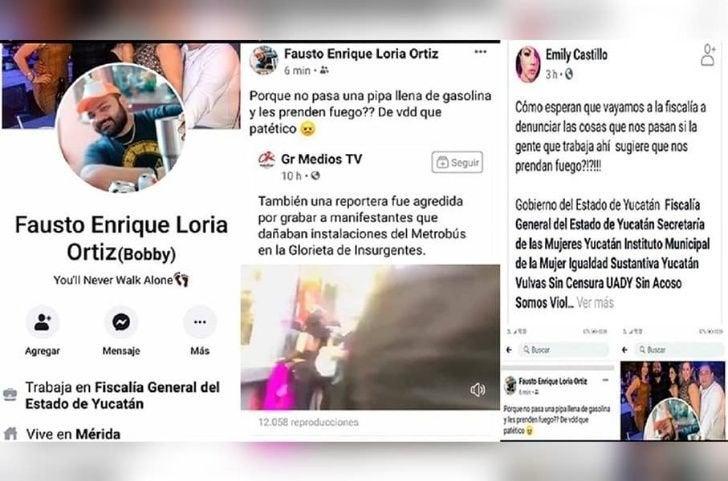 Funcionario Yucatán contra Feministán