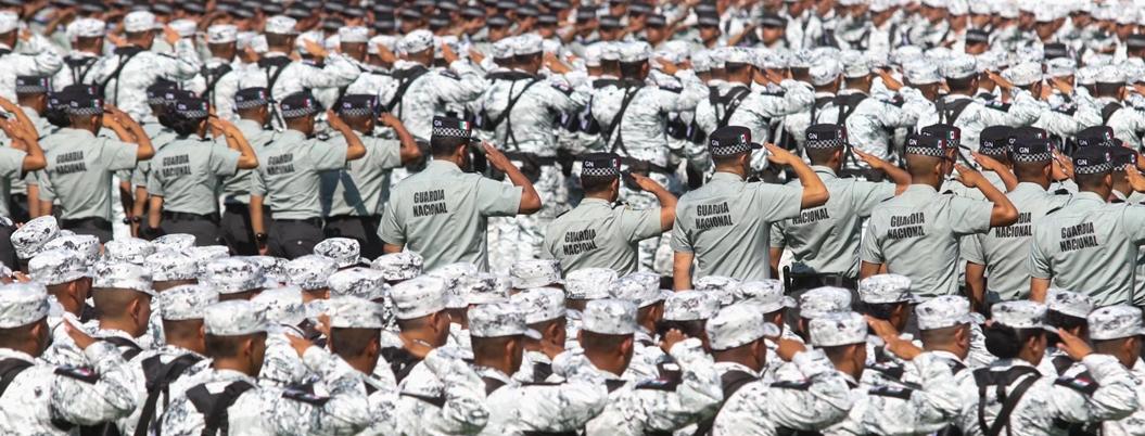 Guardia Nacional se retrasa porque no hay generales que la dirijan