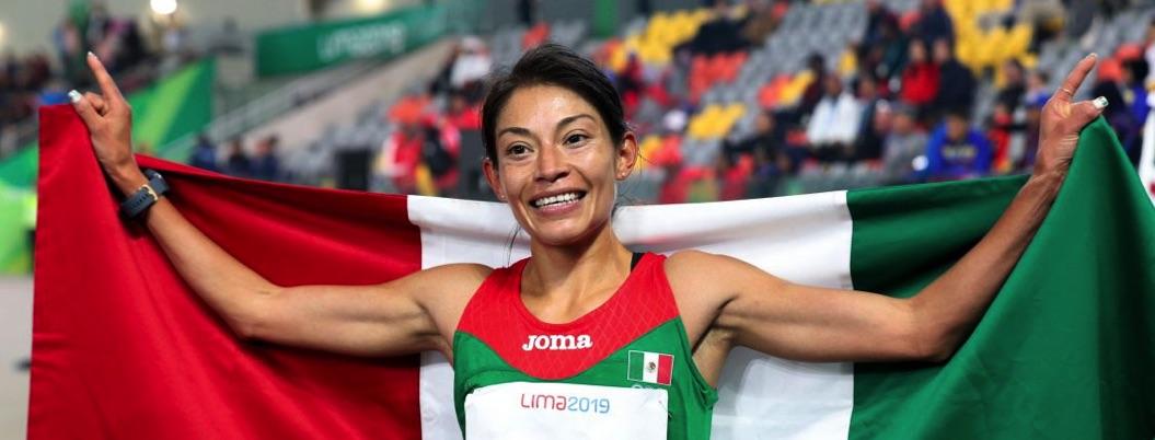 Panamericanos: México obtiene una más de oro en 5 mil metros femenil
