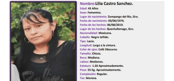 Lilia Castro Sánchez