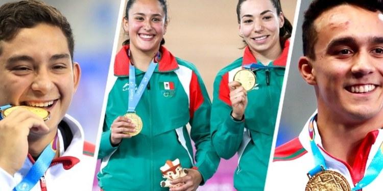 México medallas de oro