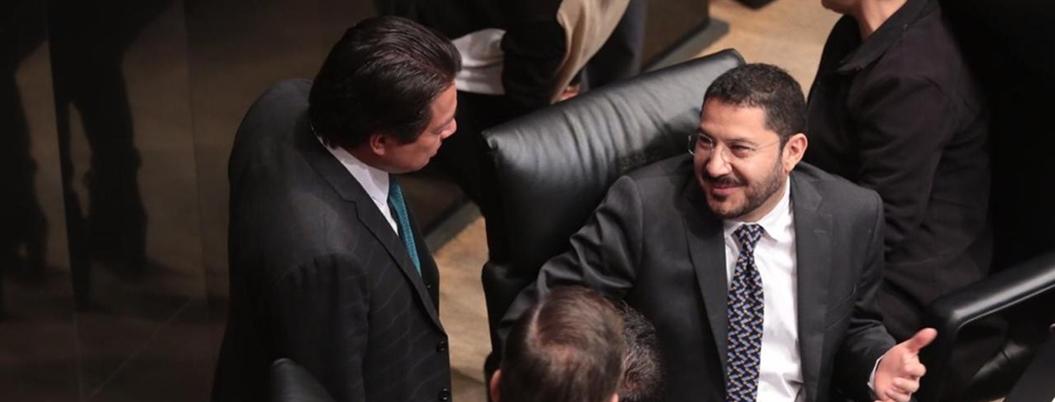 Ley avala a Batres para competir por presidencia del Senado