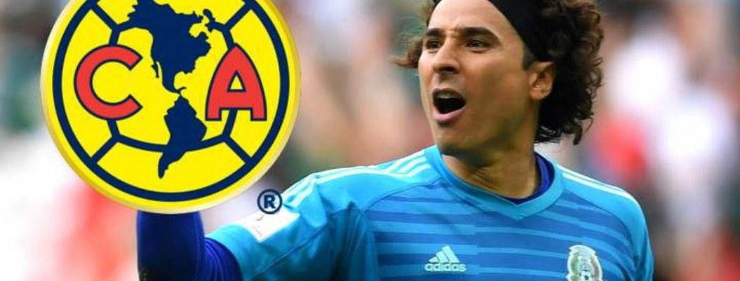 Guillermo Ochoa llega a México para unirse al América