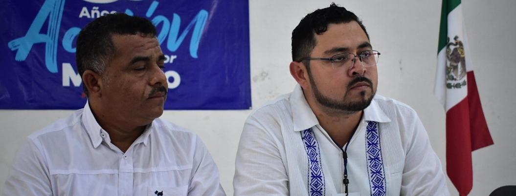 Panistas se dan hasta con la chancla en Campeche