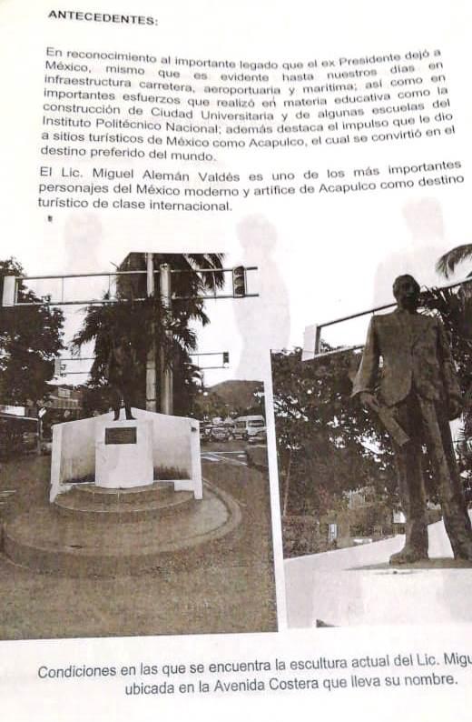 Proyecto de estatua de Alemán