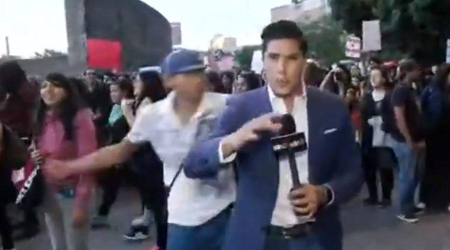 Pati Chapoy exhibe identidad de agresor del reportero golpeado en CDMX