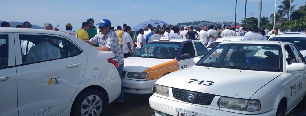 """""""Astudillo dañó transporte público en Guerrero"""", lamentan transportistas"""