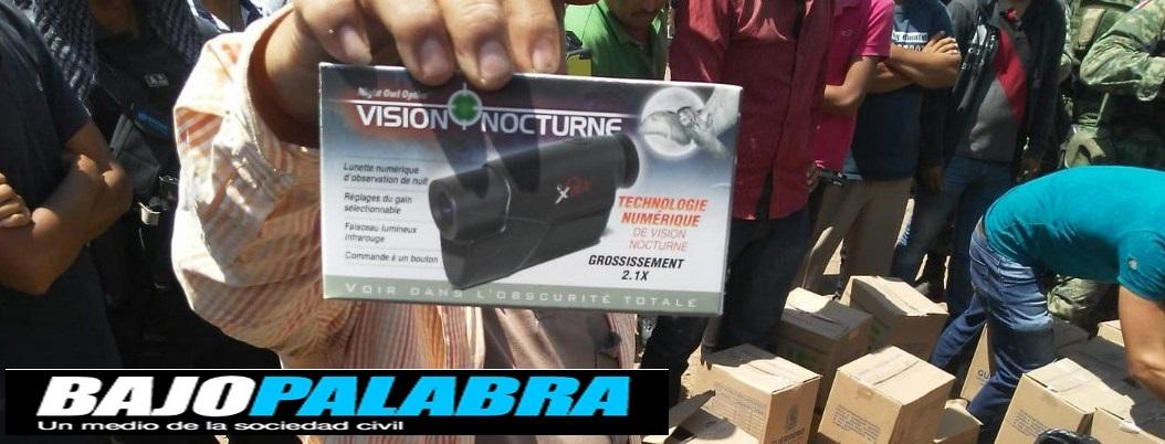 Descubren miles de balas en cajas del DIF en Guerrero