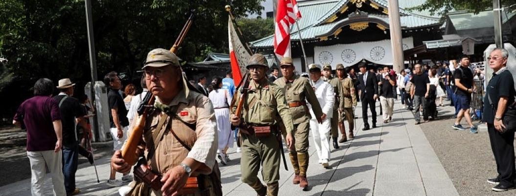 Conmemora Japón 74 aniversario del fin de la Segunda Guerra Mundial