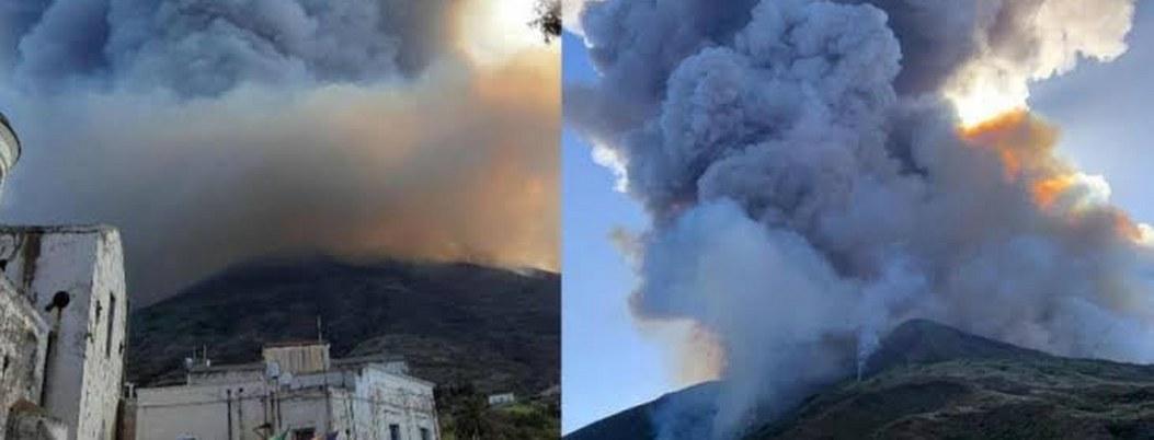 Volcán Estrómboli hace erupción; alarma a residentes y turistas