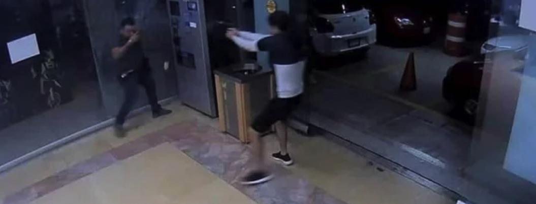 Acribillan a hombre en estacionamiento de plaza de Cuernavaca