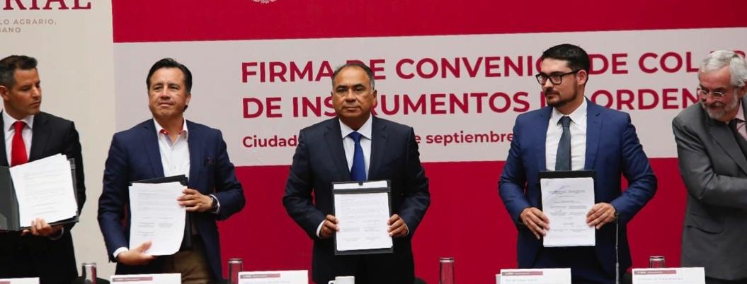 Astudillo buscará tapar deficiencias con acuerdos con Sedatu y UNAM
