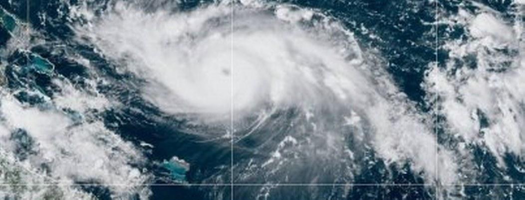 """Impacta """"Dorian"""" en Islas Bahamas con fúrica categoría 5"""