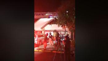 Mujer quema cartas de su ex y termina incendiando su casa