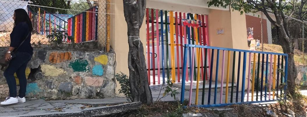 Roban equipo de cómputo y sonido en jardín de niños en Chilpancingo