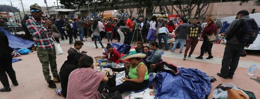 """""""No sé dónde está dios"""", dice centroamericano en su travesía por México"""