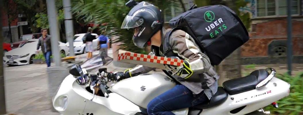 Crece el servicio de entrega en motocicletas en la Ciudad de México