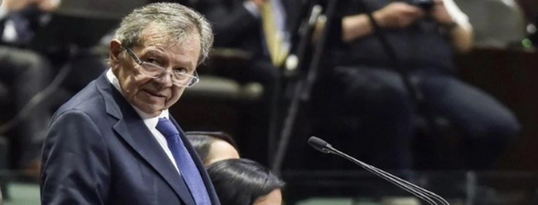 """""""Remontar las comarcas de la injuria"""", pide a legisladores Muñoz Ledo"""