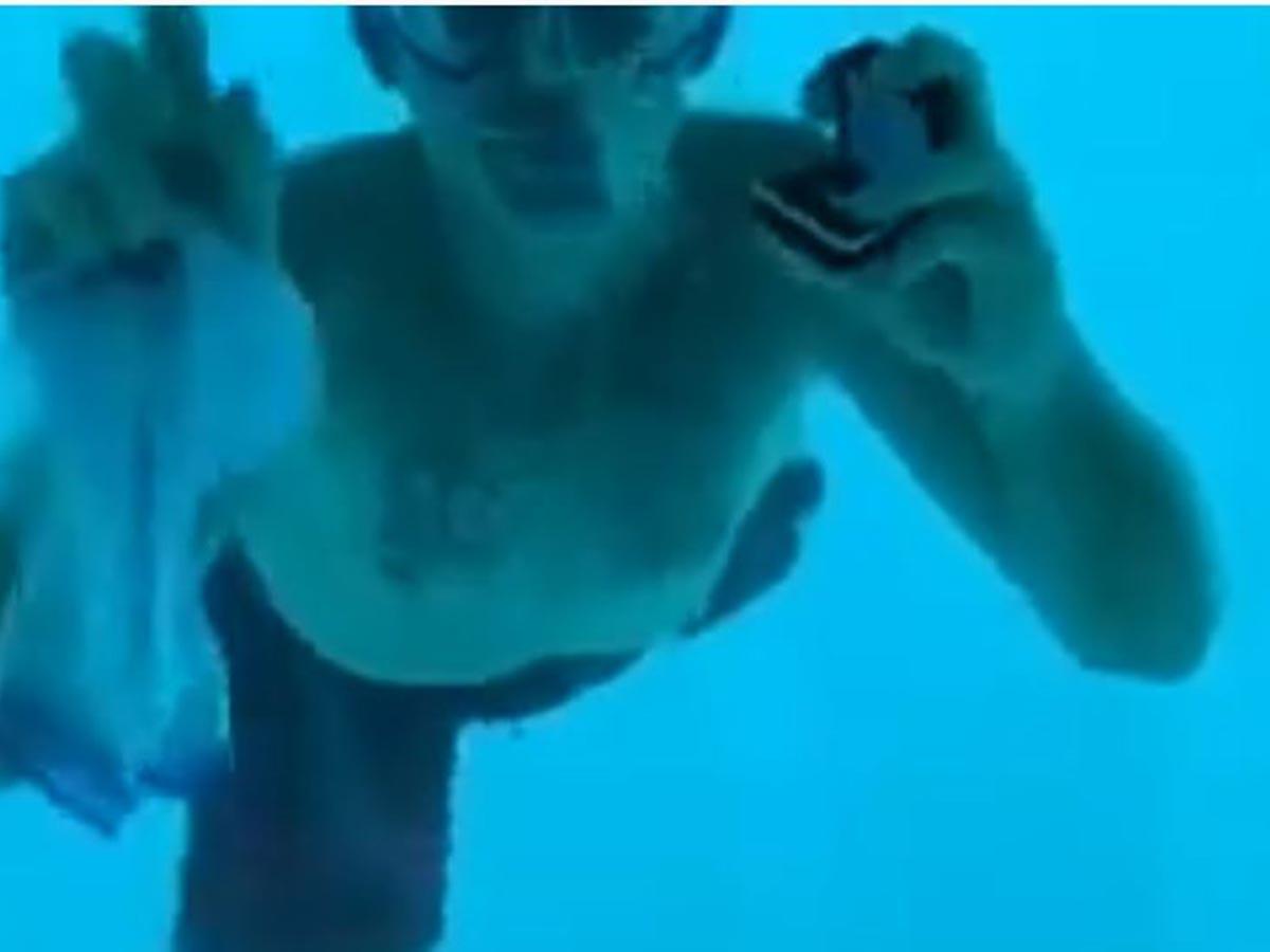 Muere ahogado tras proponerle matrimonio a su novia bajo el agua