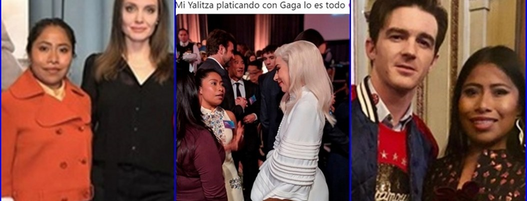 El álbum de fotos de Yalitza Aparicio con estrellas de Hollywood