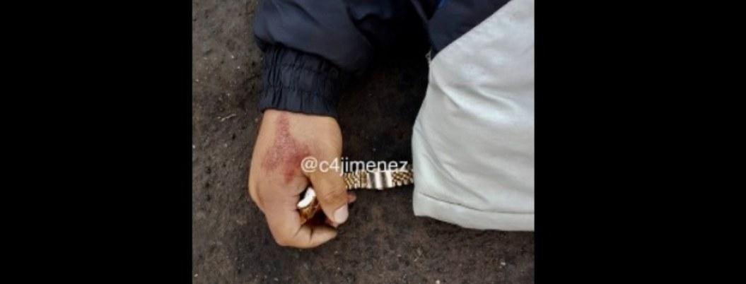 Disparan y matan a ladrón en Iztapalapa; yace cadáver con lo robado