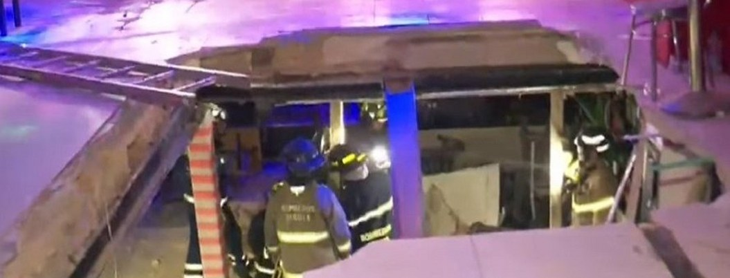 Se desploma piso de una discoteca en Bogotá en pleno concierto